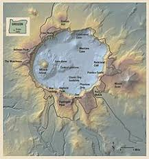 map of oregon near crater lake crater lake national park