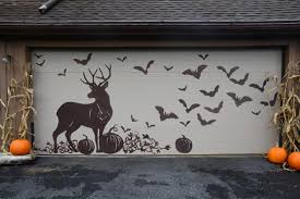 garage door halloween decorations get inspired for fall with these outdoor decorating ideas diy