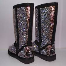 ugg s boots black 25 best boots with bling images on zapatos shoe and