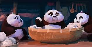artstation kung fu panda babies kalan tix