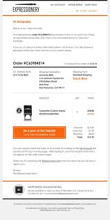 Order Confirmation Template by 25 Excellent Exles Of Transactional Html Emails Mailbakery