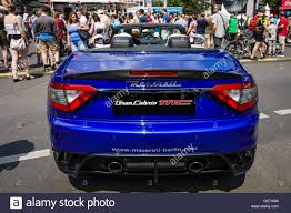maserati grancabrio 2016 berlin june 05 2016 grand tourer car maserati grancabrio mc