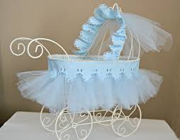 carriage centerpiece baby carriage nursery decor baby shower centerpiece vintage