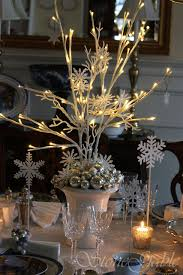 christmas branches with lights christmas branch topiary tutorial christmas table centerpieces