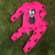 wholesame kids clothes halloween pajamas sets baby halloween