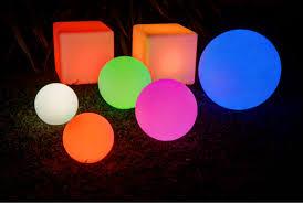 rgb color change solar glow balls led floating pool decorations