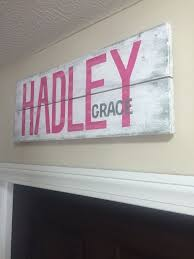 Baby Plaques Personalized The 25 Best Baby Name Signs Ideas On Pinterest Baby Room Decor