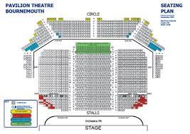 bic floor plan bournemouth pavilion theatre
