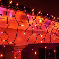 halloween christmas icicle light purple orangeloween led lights