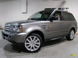 land rover metallic 2008 land rover range rover sport supercharged in stornoway grey