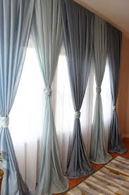 Gray Blue Curtains Designs Bedroom Drapes And Curtains Myfavoriteheadache