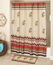 Bathroom Sets With Shower Curtain And Rugs And Accessories Southwestern Shower Curtain Ebay