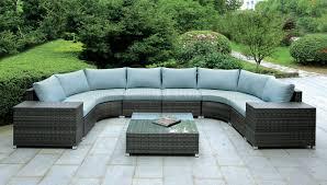 Patio Sectional Sofa Cm Os2121 U Outdoor Patio Sectional Sofa W Coffee Table
