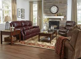 Power Reclining Sofa And Loveseat by Flexsteel Latitudes Miles Traditional Power Reclining Sofa With