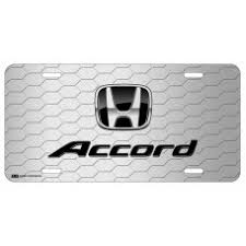 customize honda license plates by auto plates