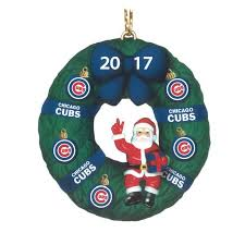 the 2017 annual cubs ornament the danbury mint