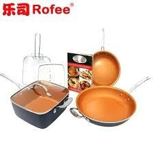 batterie de cuisine en cuivre a vendre batterie de cuisine en cuivre 7 piace ensemble titane en cacramique