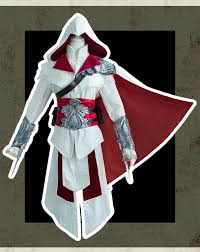 Ezio Halloween Costume Ezio Auditore Da Firenze Cosplay Assassins Creed Discovery