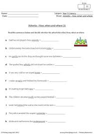 primaryleap co uk adverbs how when and where 3 worksheet