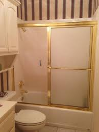 just shower doors mcentire house makeover removing the sliding shower door