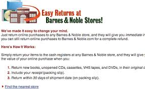 Barnes And Noble Gift Receipt 37signals Holiday E Commerce Ideas Returns In The Flesh