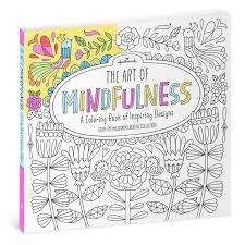 the art of mindfulness coloring book coloring books hallmark