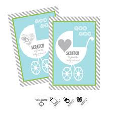 baby shower scratch baby shower scratch cards make a boy baby shower our