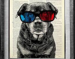 3d boxer dog t shirt boxer dog art print dictionary paper dog portrait dog