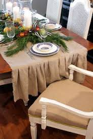 Dining Room Table Runners Diy Burlap Table Runner With Tassels Vintage Style Decor Burlap