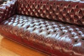 Distressed Leather Chesterfield Sofa Vintage Leather Chesterfield Sofa Makushina