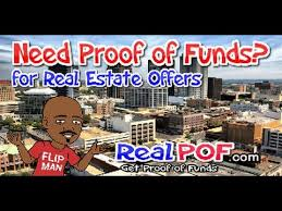 proof of funds letter get your offers accepted realpof com