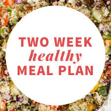 two week healthy eating meal plan january 2014 wholefully