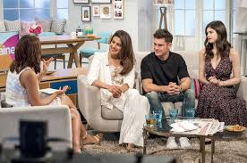 design tv show alexandra daddario appearing on the lorraine tv show in london 6