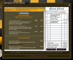 order restaurant menus ce labs commercial grade pro a v systems