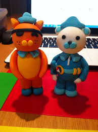 octonauts cake toppers 49 best octonauts cake images on anniversary cakes