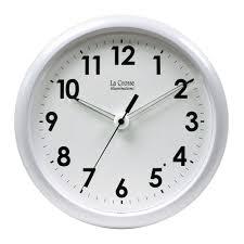 crosse illuminations 10 in wall clock