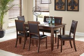 Dining Room Tables Set by Liberty Furniture Whitney 7 Piece Trestle Dining Room Table Set