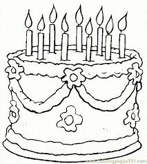 birthday coloring 01 coloring free holidays coloring
