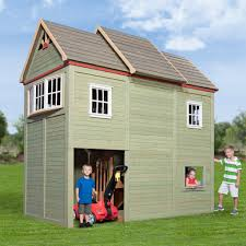 Back Yard House by Victorian Mansion Playhouse Playsets Backyard Discovery