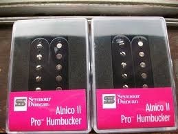 b u0027s seymour duncan humbucker pickup set alnico ii pro aph 1n and