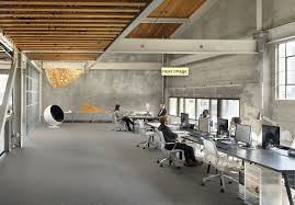 San Francisco Office  Transformed Warehouse Interiorsworkplace - Warehouse interior design ideas