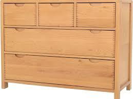 Ercol Bedroom Furniture Uk Ercol Bosco Bedroom Oak 5 Drawer Wide Chest Longlands