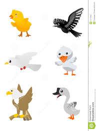 birds cartoon set 1 stock photos image 12173803