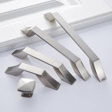 contemporary kitchen cupboard door handles 2021 zinc alloy modern cabinet handles kitchen cupboard door