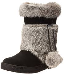 bearpaw womens boots size 9 amazon com bearpaw s tama rabbit fur boots shoes