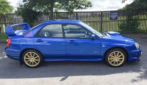 blue subaru hatchback the blobeye subaru impreza wrx sti is the best way to get your