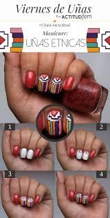figuras geometricas uñas manicure uñas geométricas tutorial actitudfem