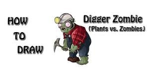 zombie coloring digger zombie learn draw paint