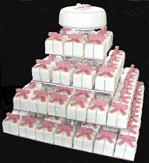 square wedding cakes mini square wedding cakes