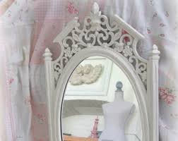 Shabby Chic Mirrors For Sale by Country Mirror Etsy